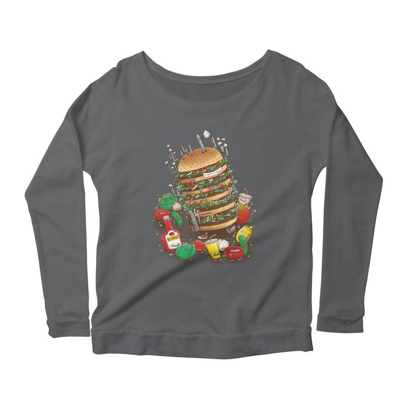 Uber BurgerBot Women's Longsleeve T-Shirt by nickv47