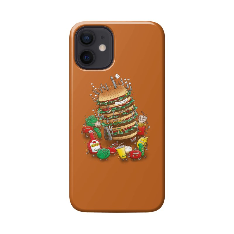 Uber BurgerBot Accessories Phone Case by nickv47