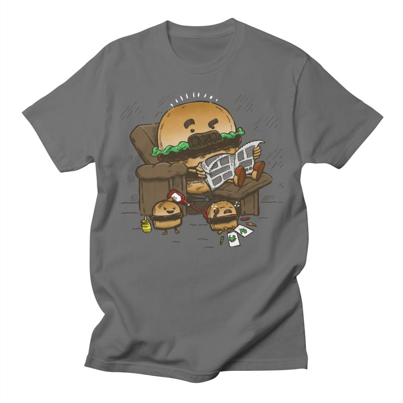 The Dad Burger Men's T-Shirt by nickv47