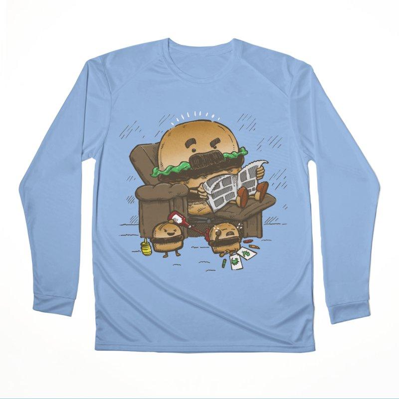 The Dad Burger Women's Longsleeve T-Shirt by nickv47