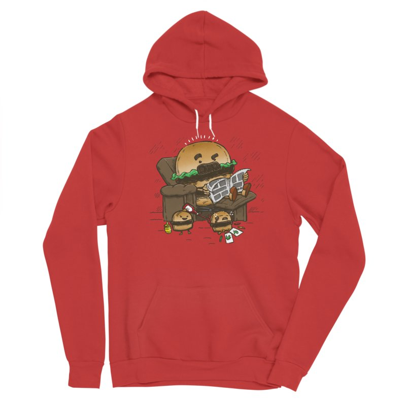The Dad Burger Women's Pullover Hoody by nickv47
