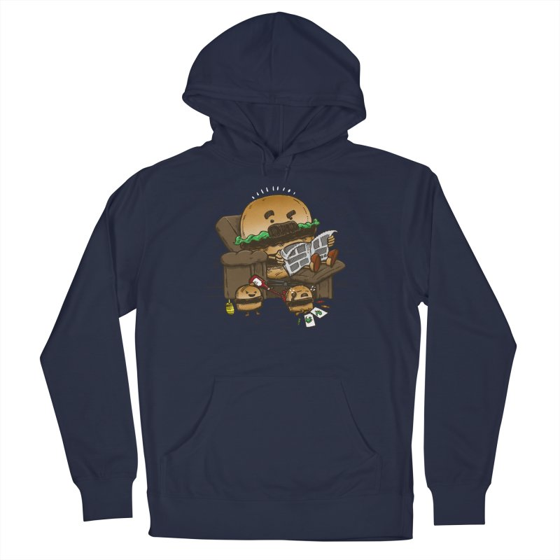 The Dad Burger Men's Pullover Hoody by nickv47