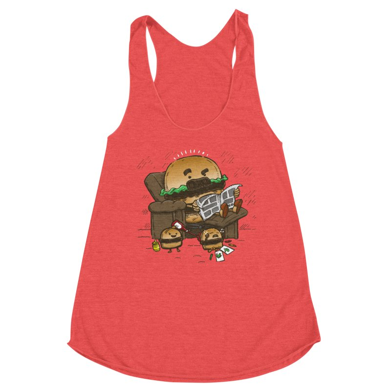The Dad Burger Women's Tank by nickv47