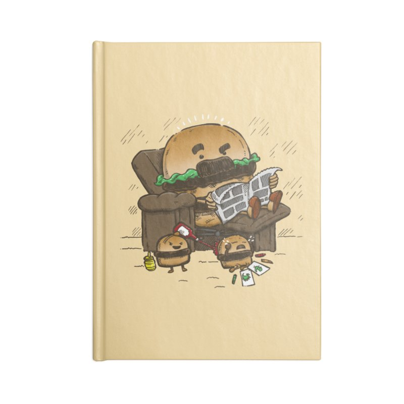 The Dad Burger Accessories Notebook by nickv47