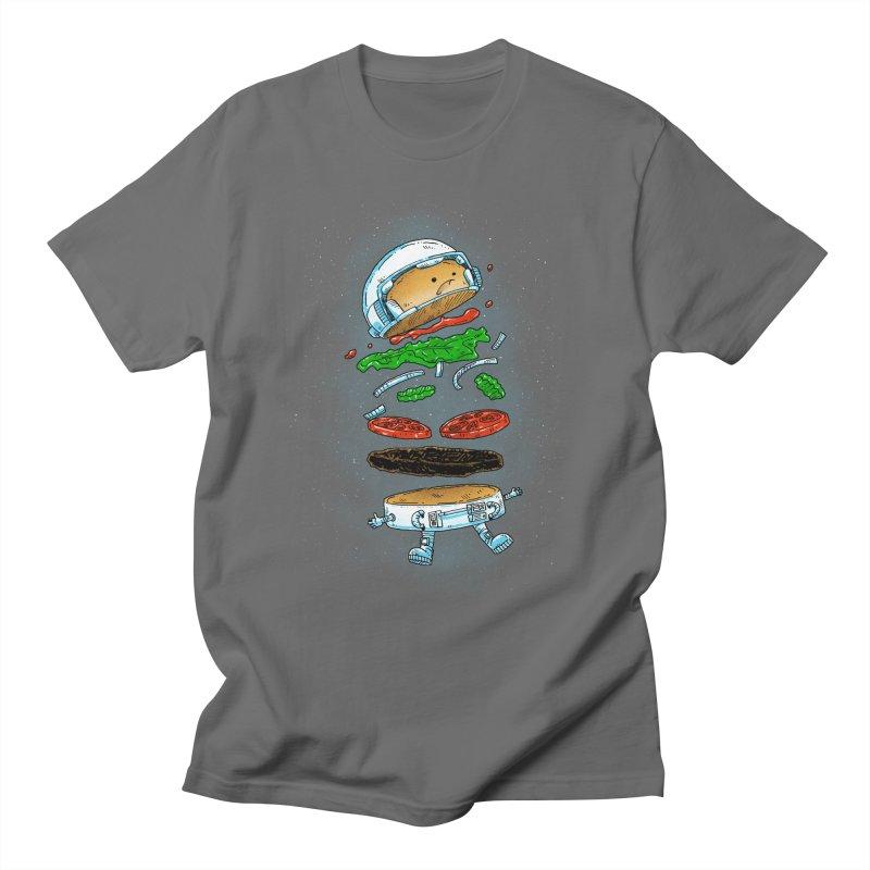 The Astronaut Burger Women's T-Shirt by nickv47