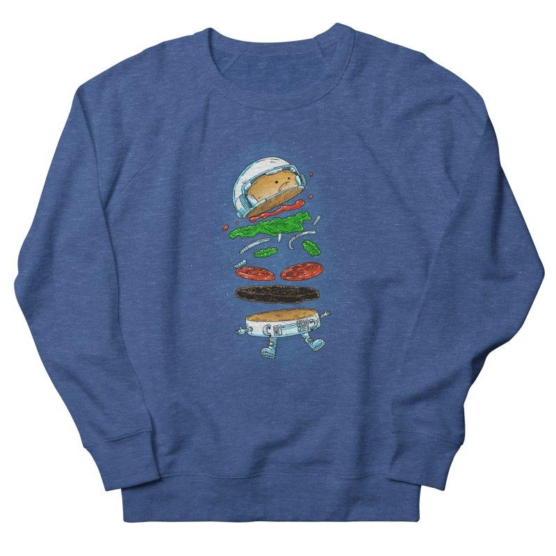 The Astronaut Burger Men's Sweatshirt by nickv47