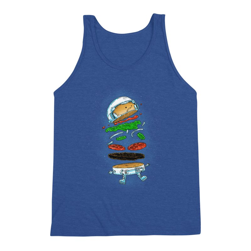 The Astronaut Burger Men's Tank by nickv47