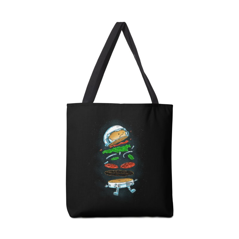 The Astronaut Burger Accessories Bag by nickv47