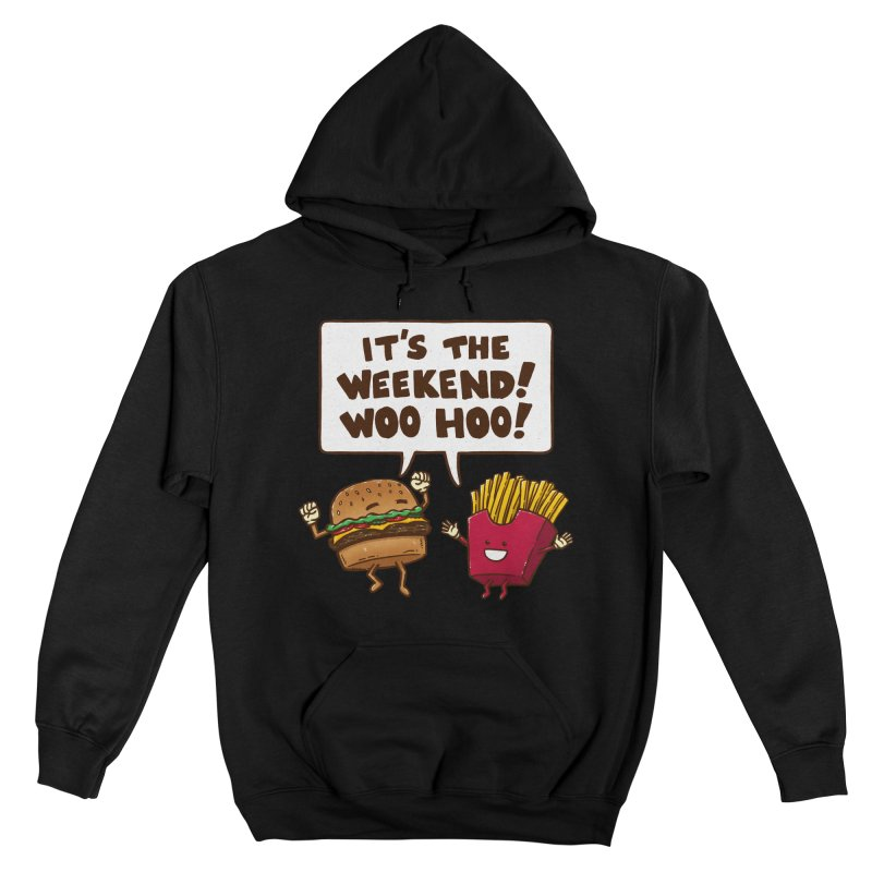 The Weekend Burger Women's Pullover Hoody by nickv47