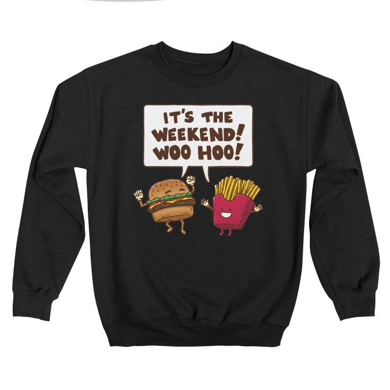 The Weekend Burger Men's Sweatshirt by nickv47