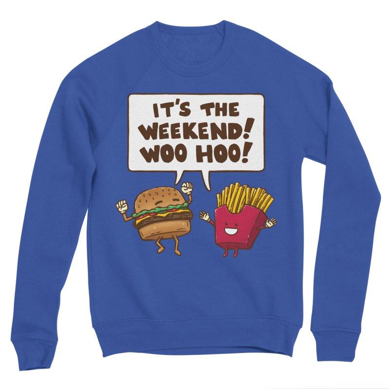 The Weekend Burger Women's Sweatshirt by nickv47