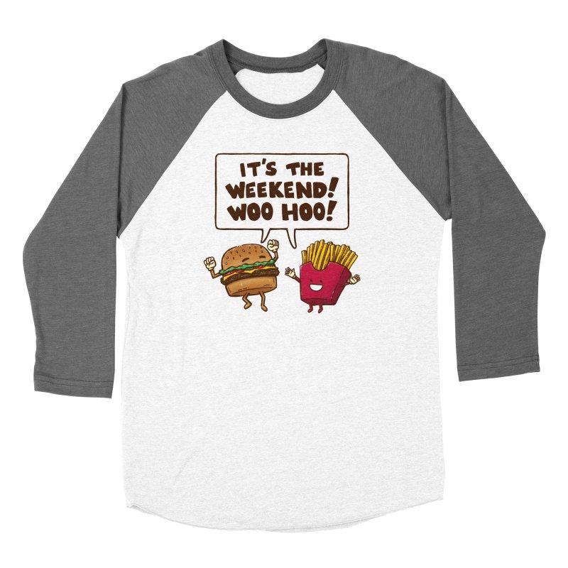 The Weekend Burger Women's Longsleeve T-Shirt by nickv47