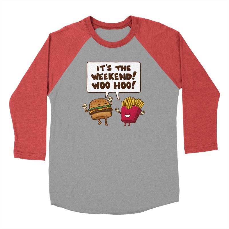 The Weekend Burger Men's Longsleeve T-Shirt by nickv47