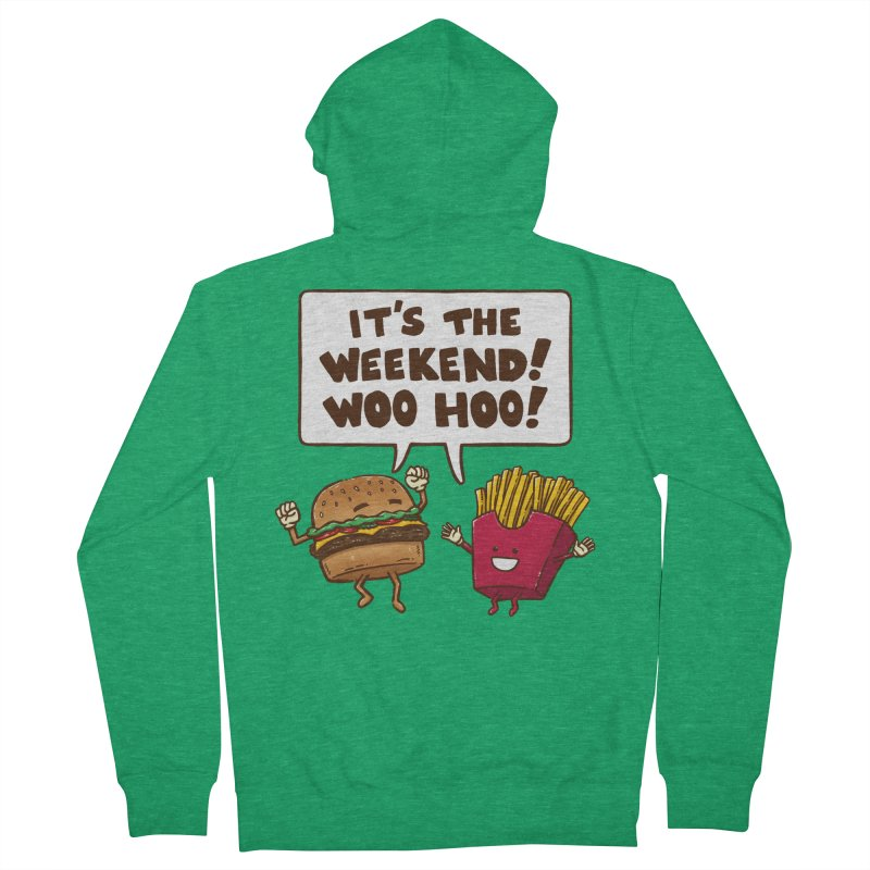 The Weekend Burger Men's Zip-Up Hoody by nickv47