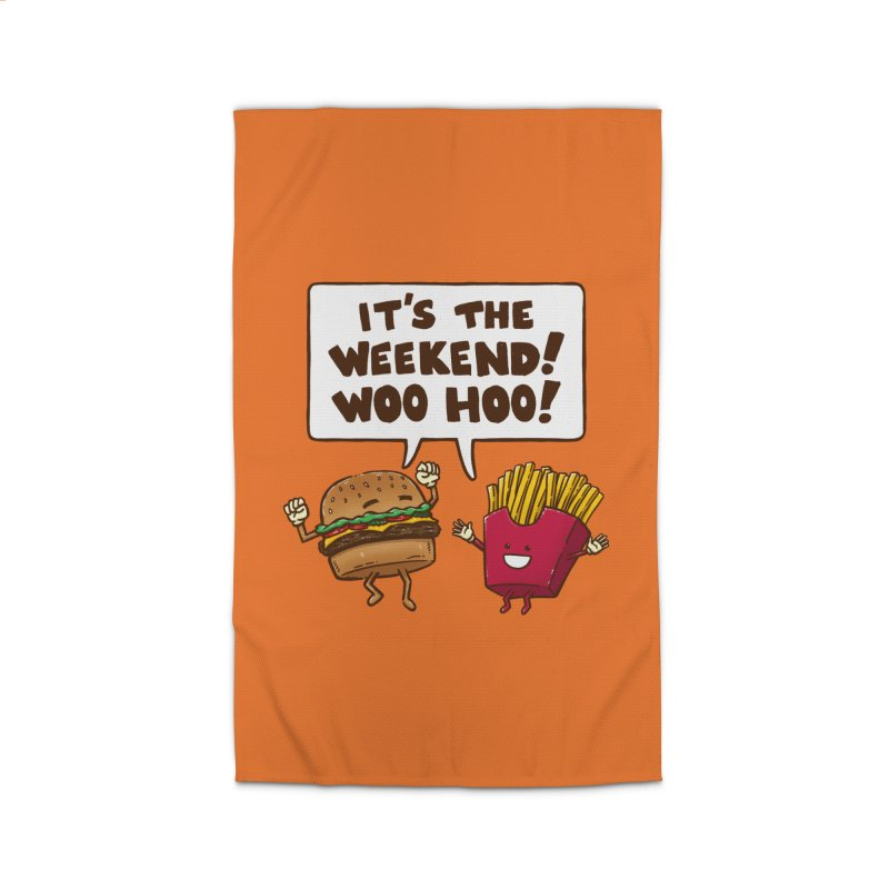 The Weekend Burger Home Rug by nickv47