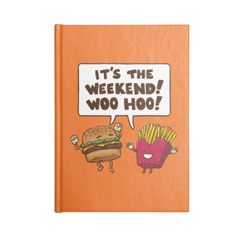 The Weekend Burger Accessories Notebook by nickv47