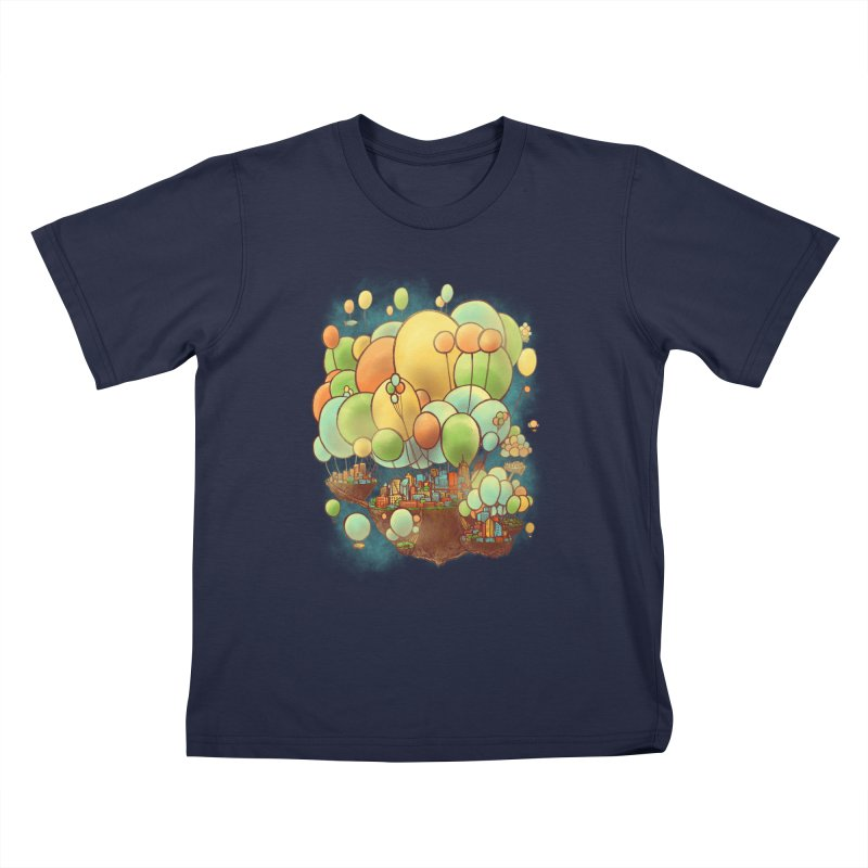 Cloud City Kids T-Shirt by nickv47
