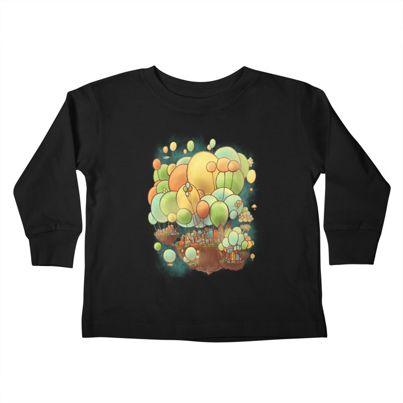 Cloud City Kids Toddler Longsleeve T-Shirt by nickv47