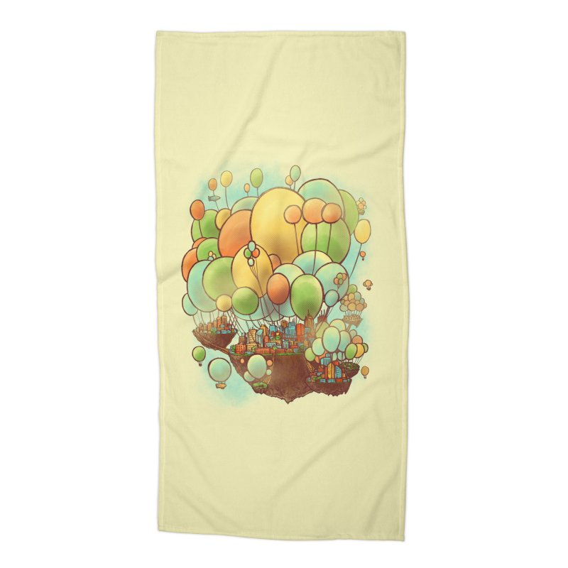 Cloud City Accessories Beach Towel by nickv47