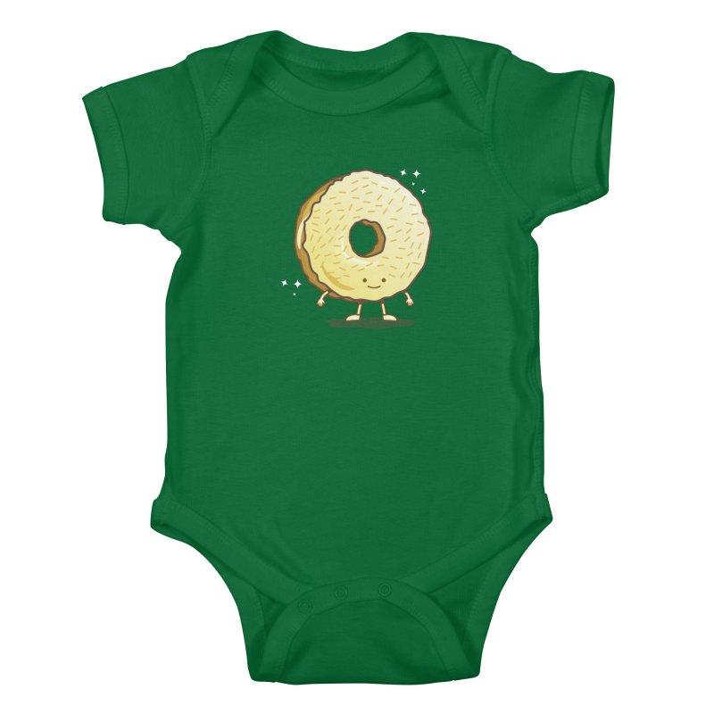 The Golden Donut Kids Baby Bodysuit by nickv47