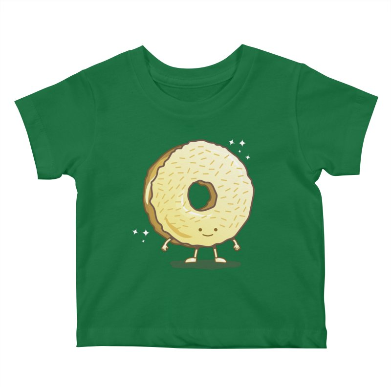The Golden Donut Kids Baby T-Shirt by nickv47