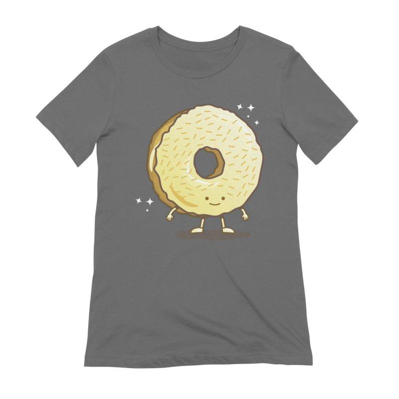 The Golden Donut Women's T-Shirt by nickv47