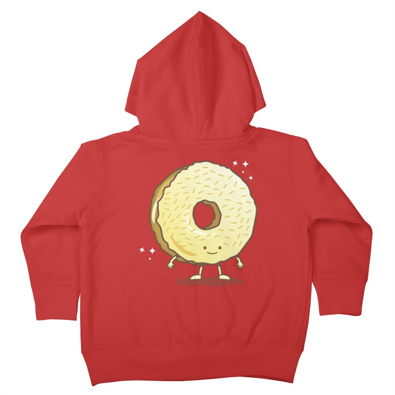 The Golden Donut Kids Toddler Zip-Up Hoody by nickv47