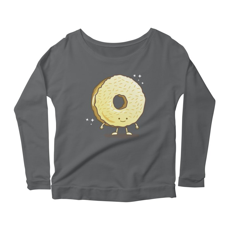 The Golden Donut Women's Longsleeve T-Shirt by nickv47