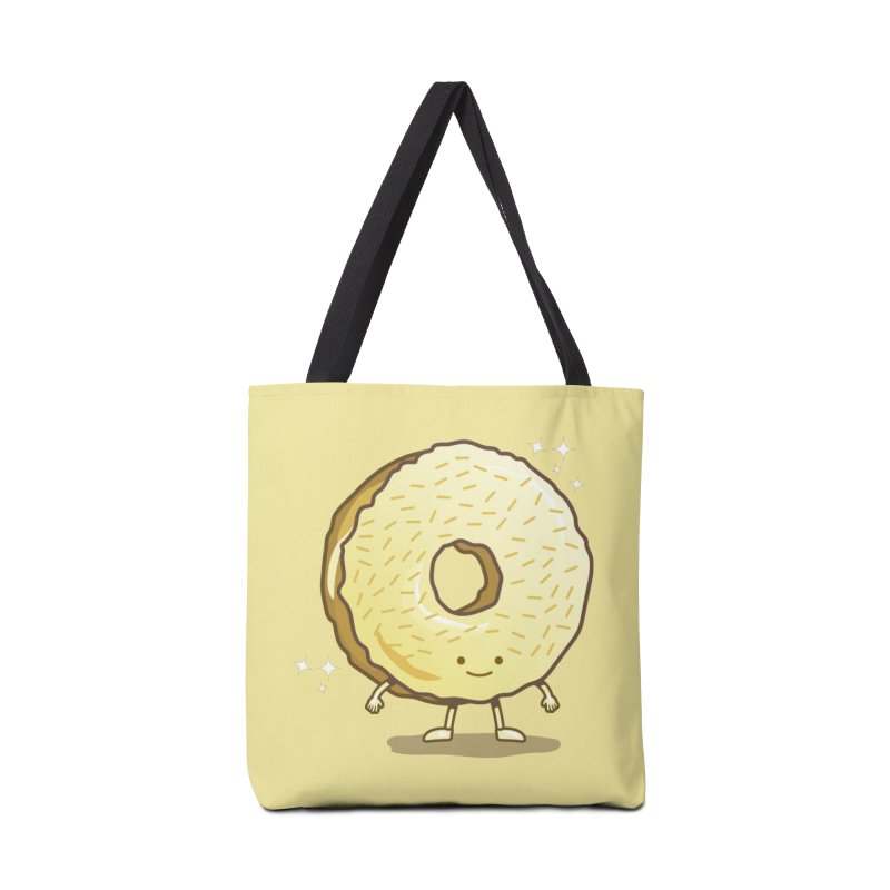 The Golden Donut Accessories Bag by nickv47