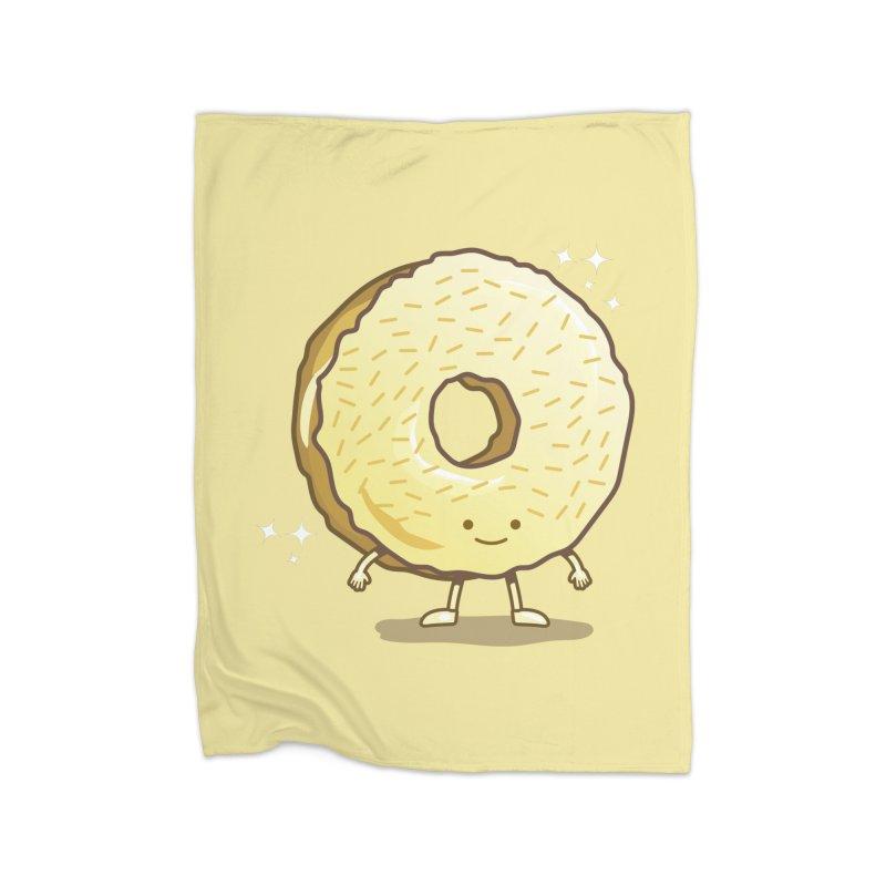 The Golden Donut Home Blanket by nickv47