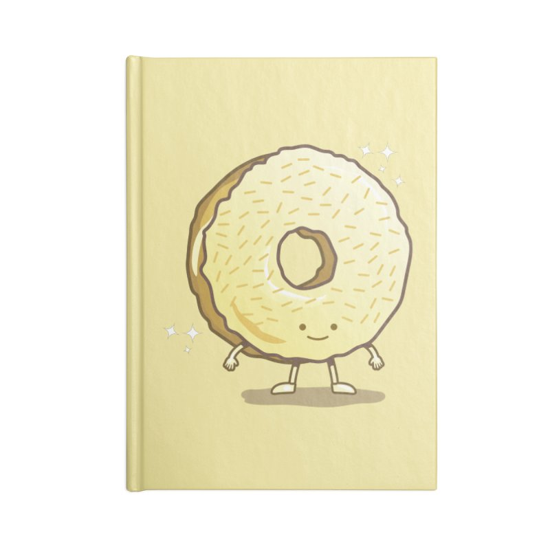 The Golden Donut Accessories Notebook by nickv47
