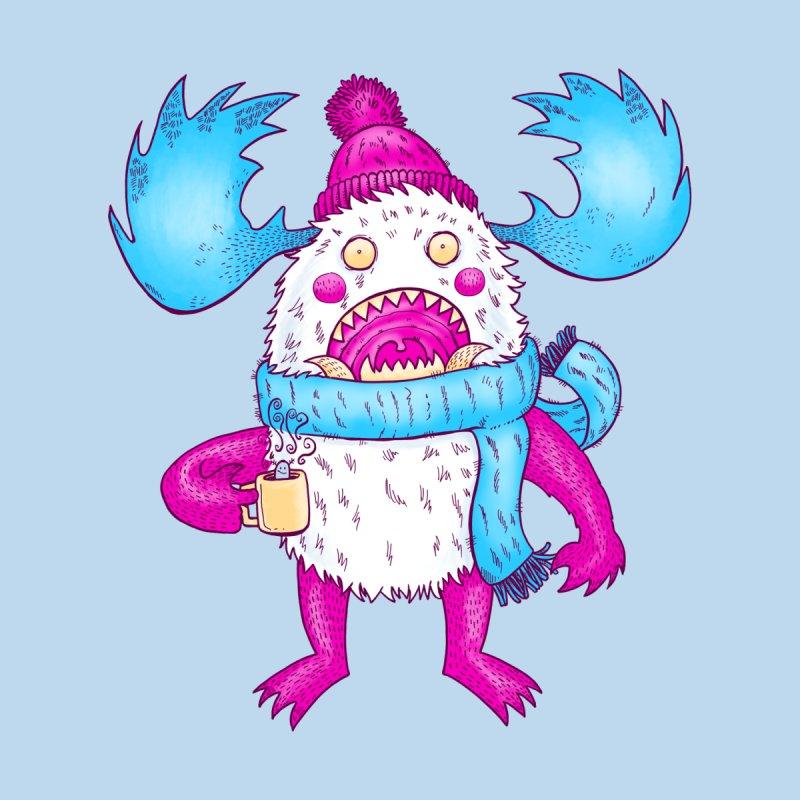 Mr Caffeine Kids Pullover Hoody by nickv47