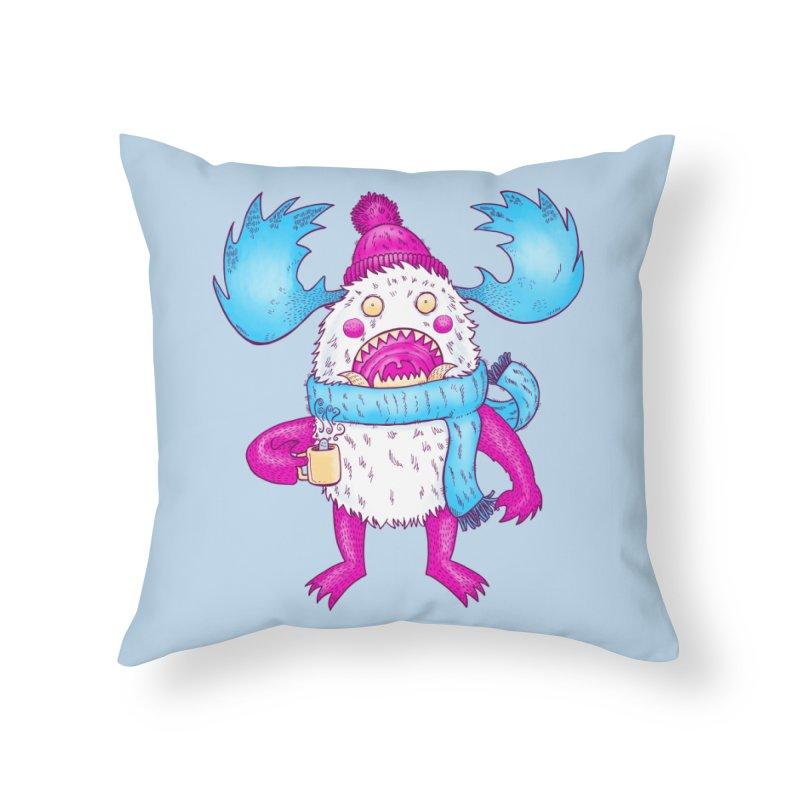 Mr Caffeine Home Throw Pillow by nickv47