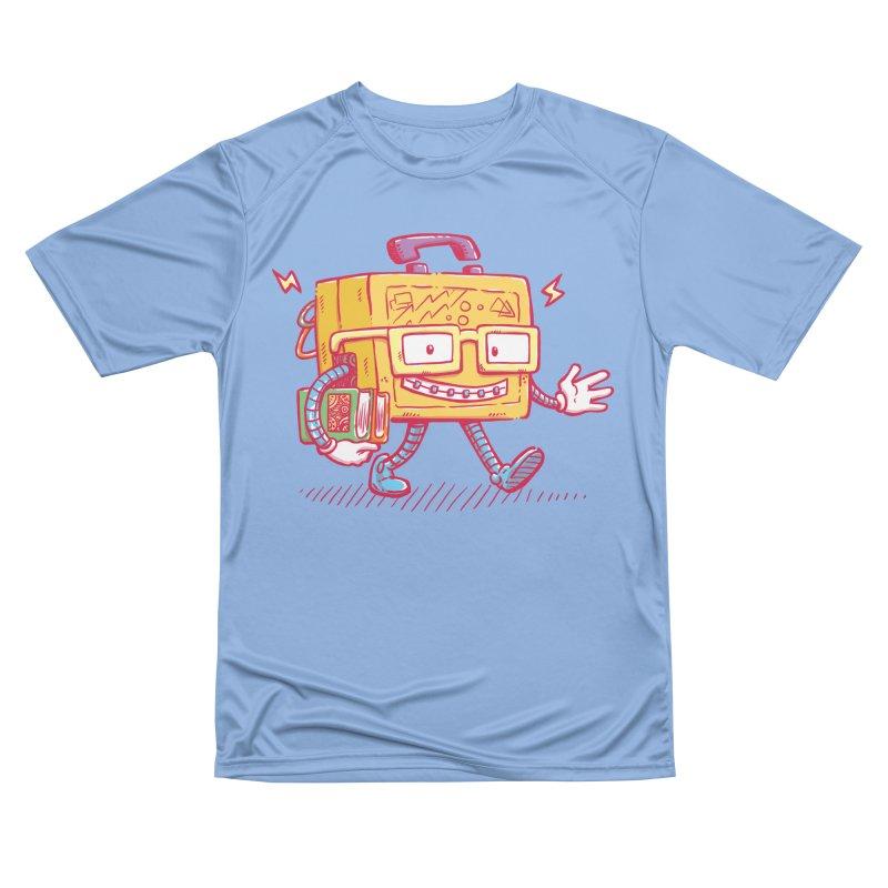 Lunch Pail Bot Women's T-Shirt by nickv47