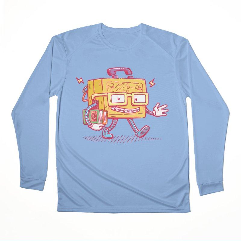 Lunch Pail Bot Women's Longsleeve T-Shirt by nickv47
