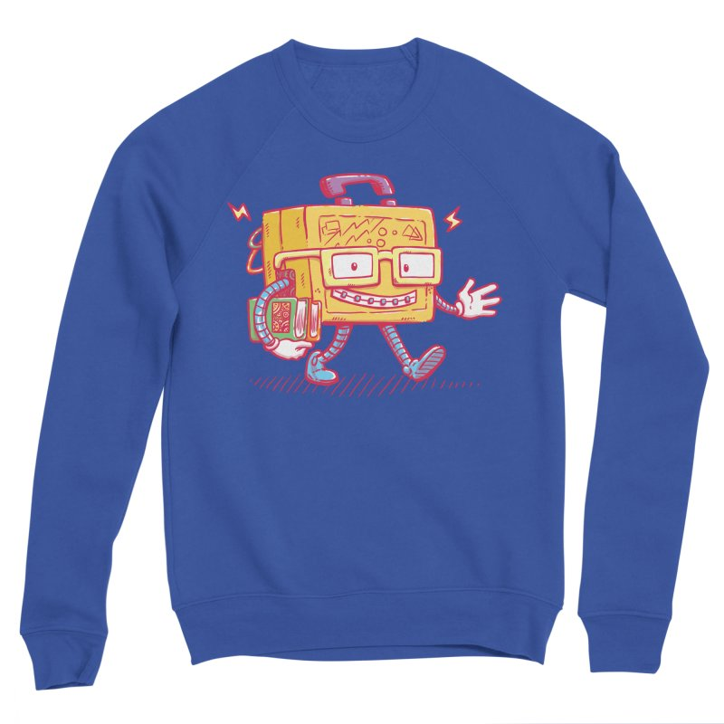 Lunch Pail Bot Men's Sweatshirt by nickv47