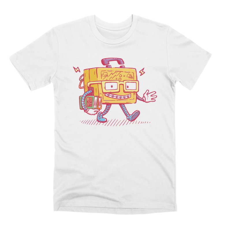 Lunch Pail Bot Men's T-Shirt by nickv47