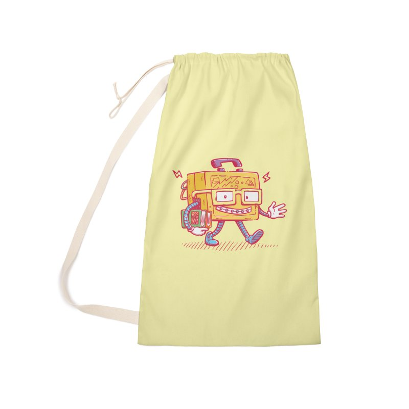 Lunch Pail Bot Accessories Bag by nickv47