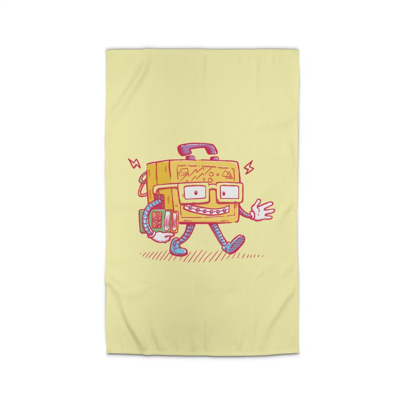 Lunch Pail Bot Home Rug by nickv47