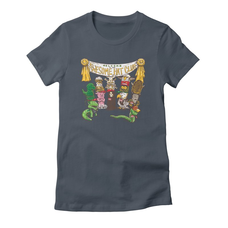 Awesome Hat Club Women's T-Shirt by nickv47