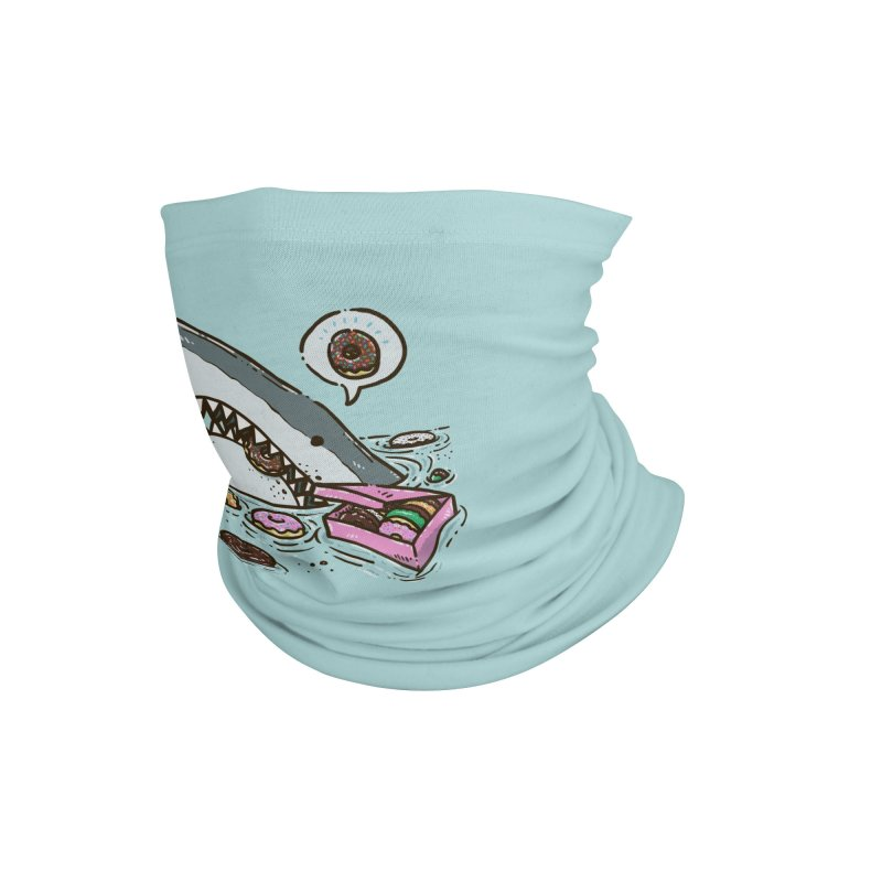 Box of Donuts Shark Accessories Neck Gaiter by nickv47