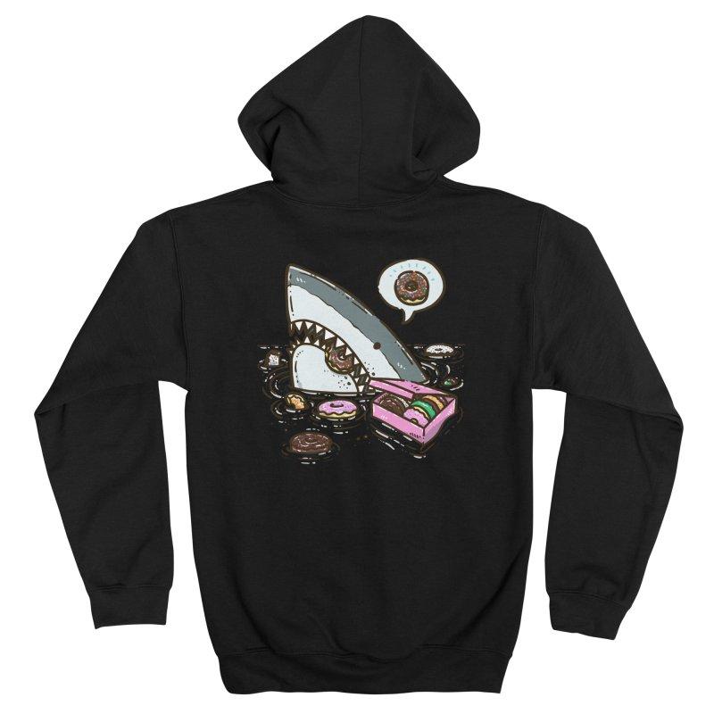 Box of Donuts Shark Women's Zip-Up Hoody by nickv47