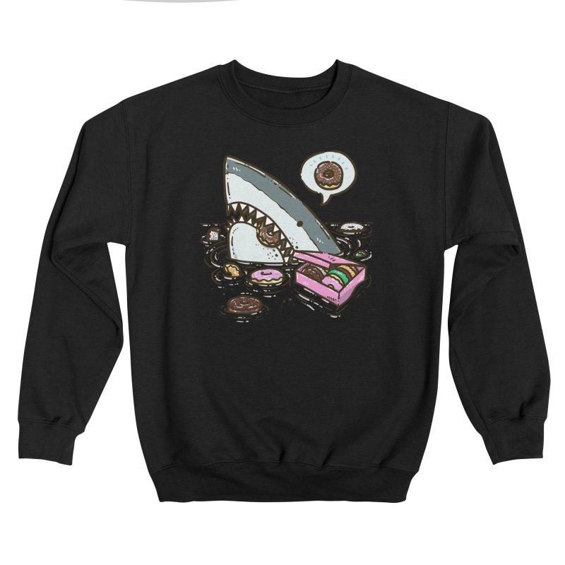 Box of Donuts Shark Women's Sweatshirt by nickv47