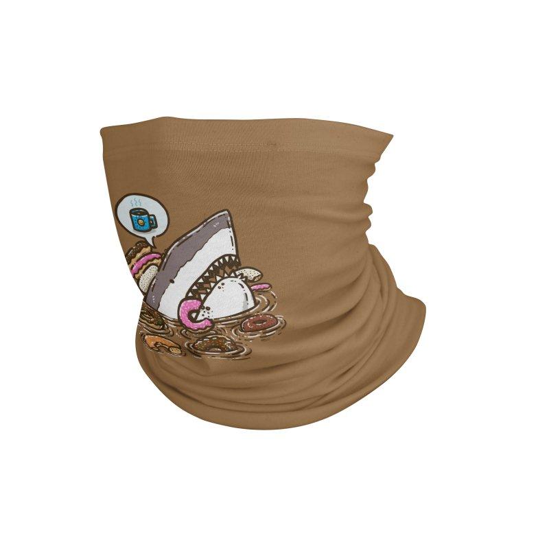 Donut Shark Accessories Neck Gaiter by nickv47