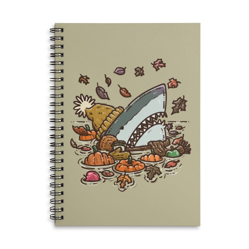 Fall Shark Accessories Notebook by nickv47