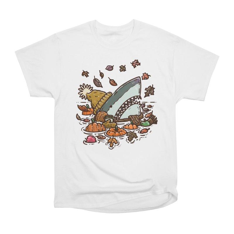 Fall Shark Women's T-Shirt by nickv47