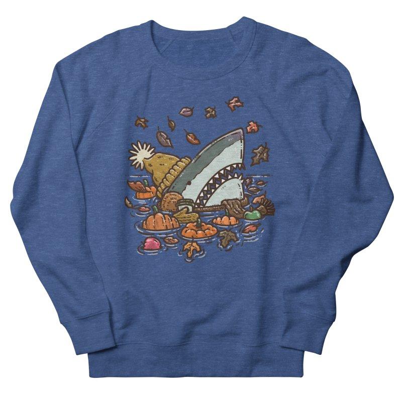 Fall Shark Men's Sweatshirt by nickv47