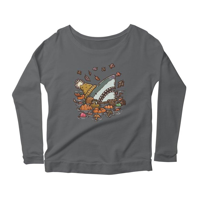 Fall Shark Women's Longsleeve T-Shirt by nickv47