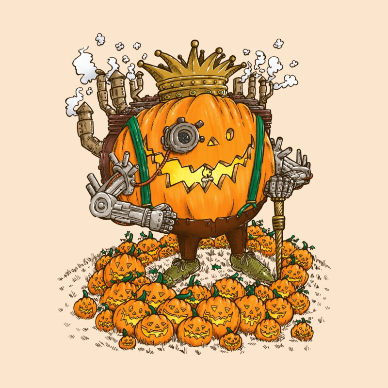 The Steampunk Pumpking None  by nickv47