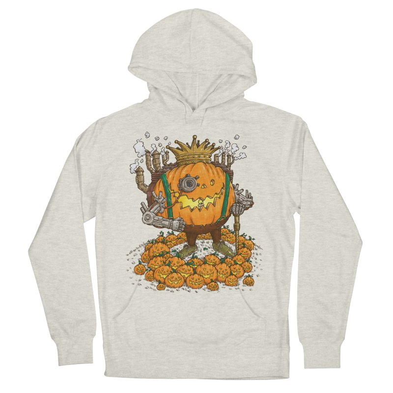 The Steampunk Pumpking Women's Pullover Hoody by nickv47